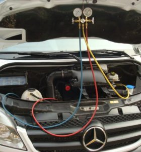 Заправка авто кондиционеров фреоном R134a