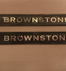 Эмблемы BROWNSTONE TOYOTA LAND CRUISER 200