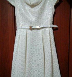 Платье на 6-7 лет.
