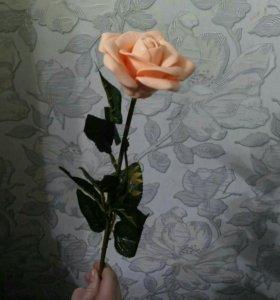 Мыло королевская роза на стебле