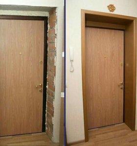 Облагораживание входной двери