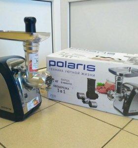 Мясорубка Polaris 3в1 PMG 2033al (новая)
