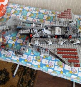 Лего звездный корабль