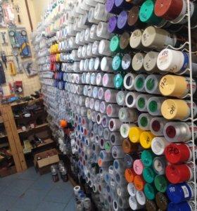 Аэрозольные краски большой выбор