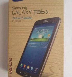 Коробка с инструкцией от SAMSUNG Galaxy Tab 3
