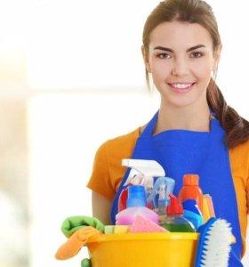 Уборка дома, квартиры и офиса