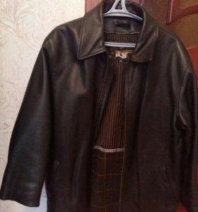Натуральная мужская кожанная куртка