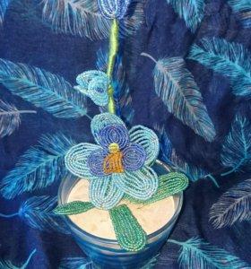 Орхидея ручной работы