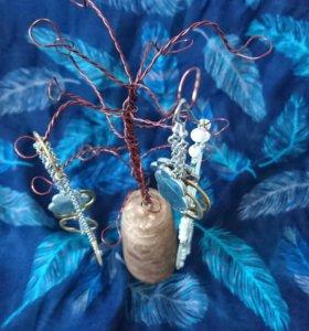 Дерево для бижутерии ручной работы