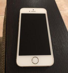 IPhone 5s -16 gb, золото, в отличном состоянии.