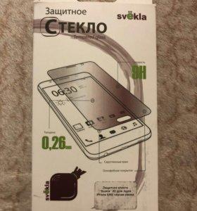 Защ. ст. Svekla 3D для Apple iPhone 6/6S черная ра