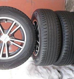 Комплект колёс с шинами