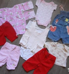 Пакет вещей на девочку от 0 -1 года