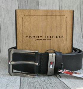 Кожаный ремень Tommy Hilfiger