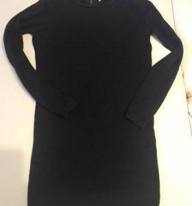 Чёрное трикотажное платье   KOTON