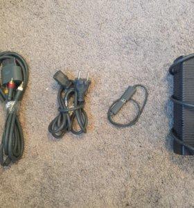 все провода для xbox 360 и карта памяти