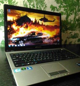"""Игровой ноутбук asus A53S 15.6"""" Intel Core i3"""