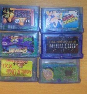 Картриджи для Game Boy