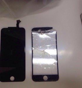 Замена стекла на Samsung и iPhone