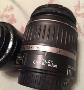 Canon ef 18-55mm объектив