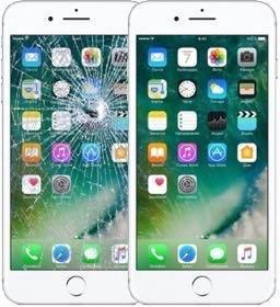 Замена дисплеев,стёкол iPhone