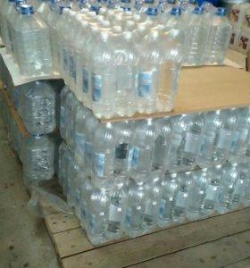 Дистиллированная вода 1,5л 5л.