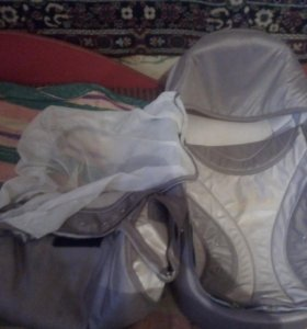 Детская краватка,переноска,сумка и маскитная сетка