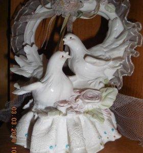 фигурки голубей