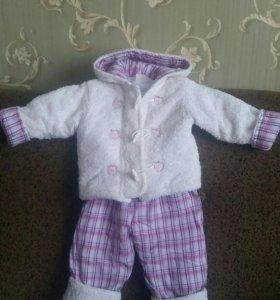 Костюм для девочек (куртка+штаны)