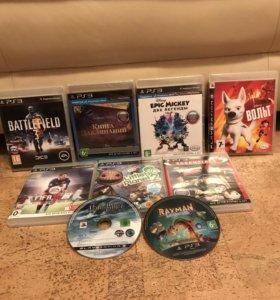 Диски для PlayStation 3. Каждый диск по 500 рублей