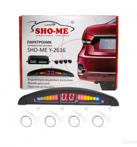 Парктроник Sho-Me Y-2616, 22мм на 4 датчика
