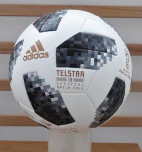 Футбольный мяч Adidas Telstar 2018 в коробке