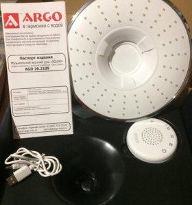 Музыкальный верхний душ ARGO AGD 20.2109 FW