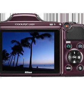 Nikon COOLPIX L820 б\у срочно!!!