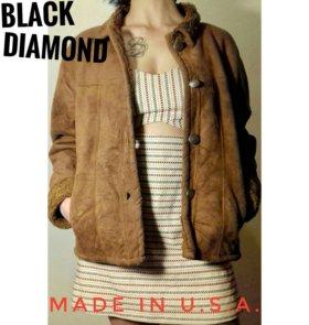 Искусственная дублёнка Black Diamond