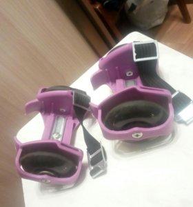 Ролики на ботинки