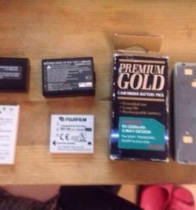 аккумуляторы для фотоаппаоатов