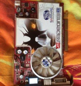 Видеокарта X1600PRO/512mb/DDR2/AGP/VGA/TVO/DVI-I