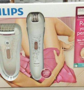Новый эпилятор Philips SatinPerfect Wet&Dry