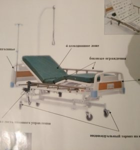 Кровать функциональная электрическая Armed RS201