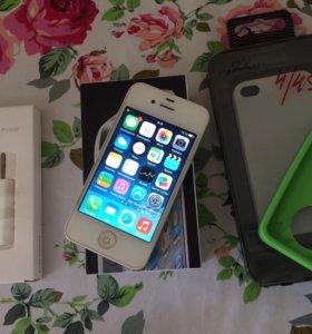 iPhone 4 32gb white