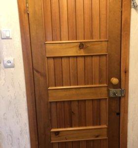 Входная (вторая) дверь