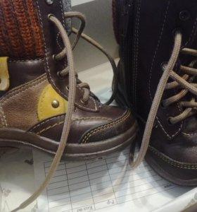 Ботинки Котофей демисезон