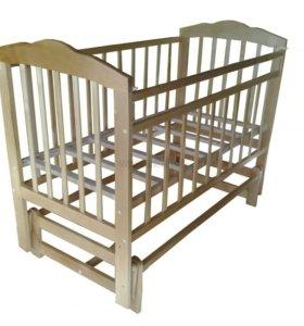 Кроватка-маятник двухуровневая