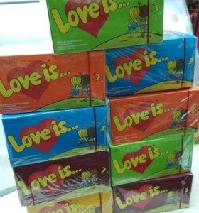 Love is Лов из блоком