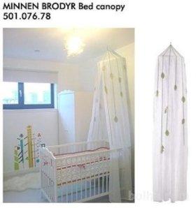 Балдахин в детскую кроватку