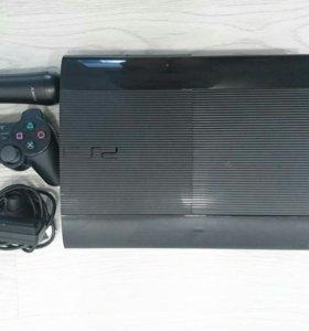Sony PS3 + мув и камера для спортивных игр