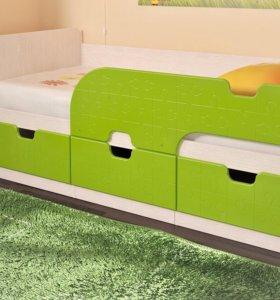 """Детская кровать """"Минима"""" от МВ Мебель"""