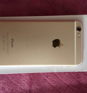 iPhone gold 6