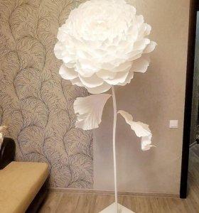 Большие цветы для декора.